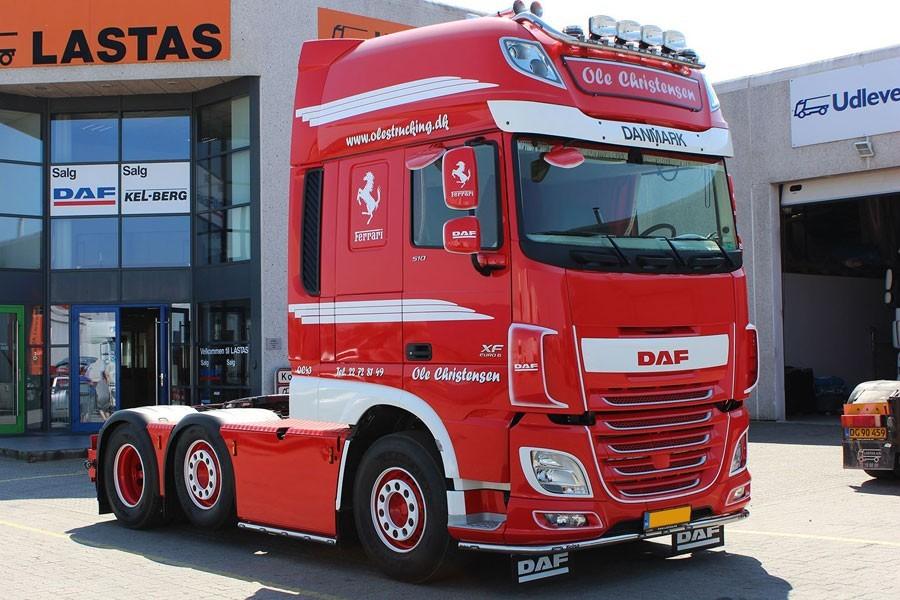 DAF lastbil, Tagskilte, Skilte til Lastbiler