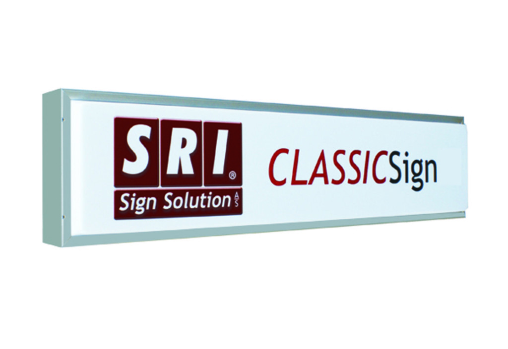 ClassicSign - traditionel lyskasse til lastbil fra SRI Sign Solution A/S