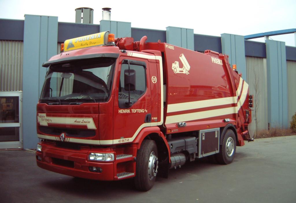 AeroSignLED reklameskilt til lastbil @ Renault