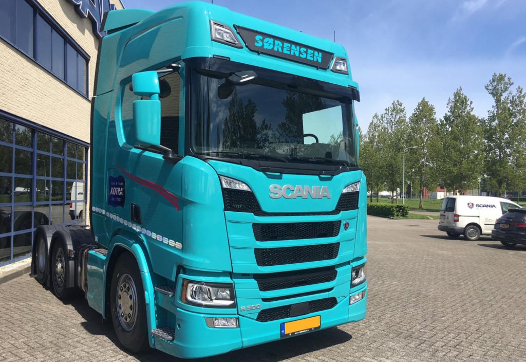 FrontSignLED® lysskilt til Scania