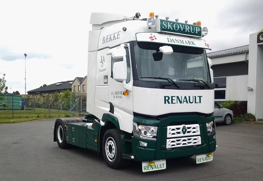 Lysskilt til Renault lastbil