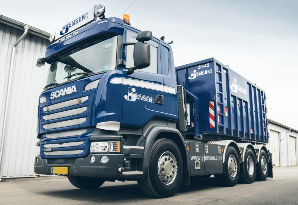 Lysskilt til Scania