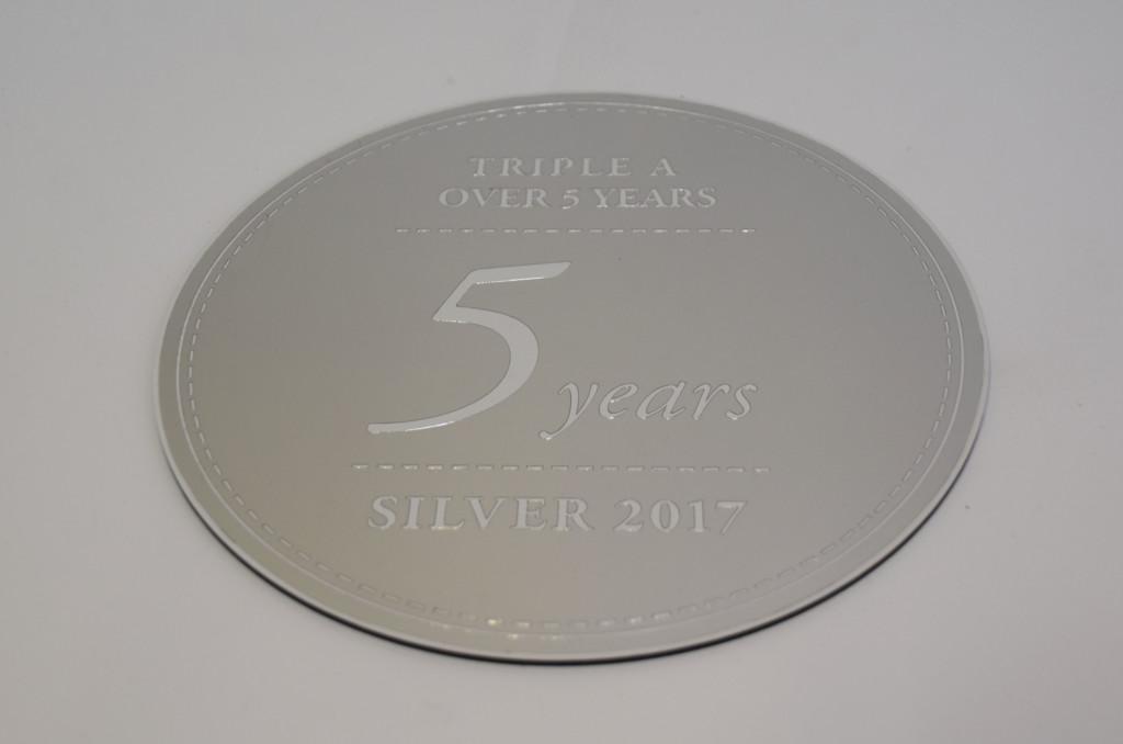 SRI 5-years-AAA