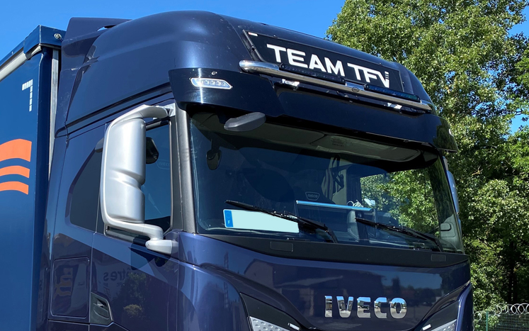 LED sign for new Iveco S-Way